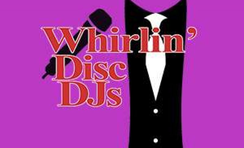 whirlin' disc djs logo