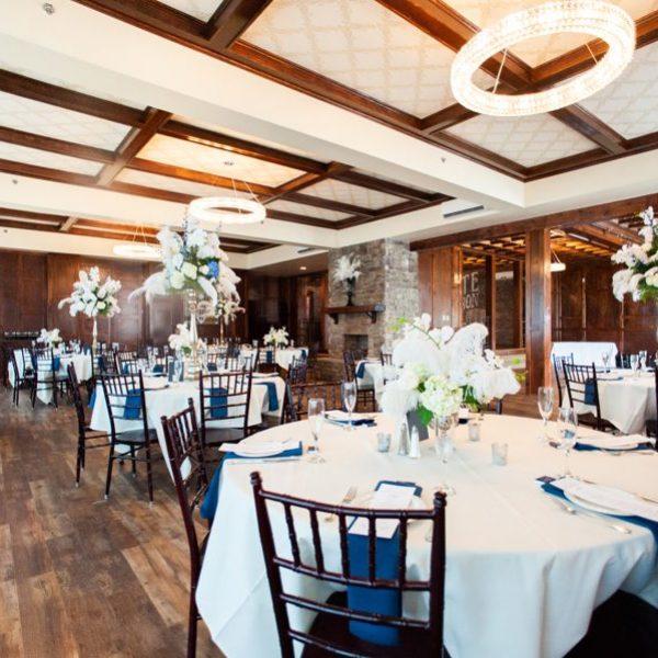 1920s wedding venue elegant reception room