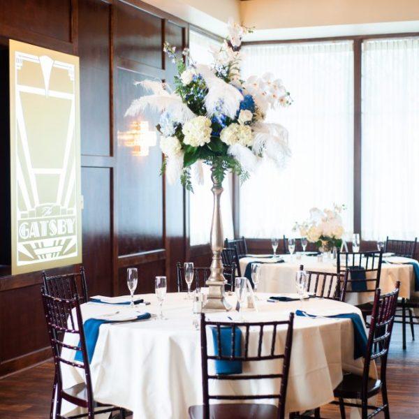 1920s wedding venue gatsby reception space