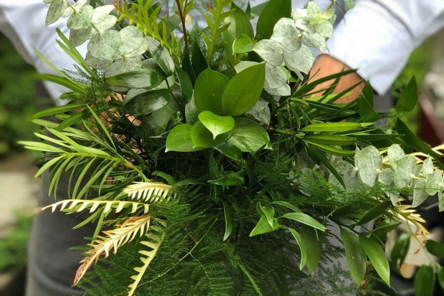bouquet of greenery