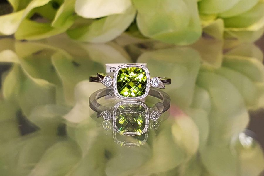 green gem ring