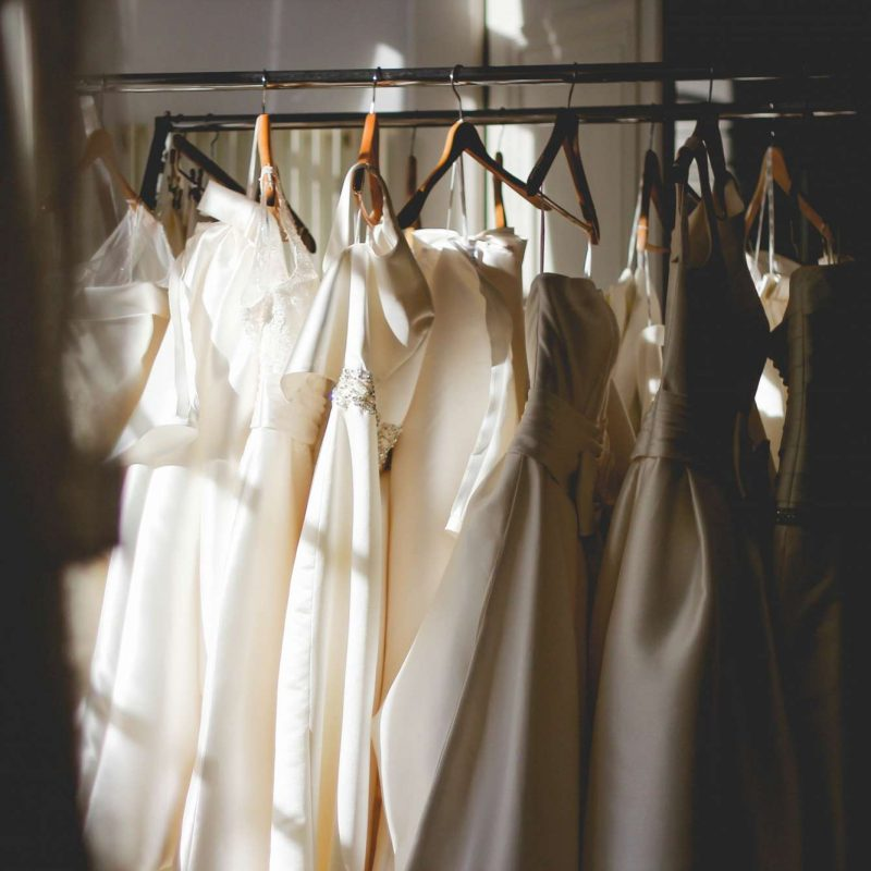 wedding dress bridesmaids dresses
