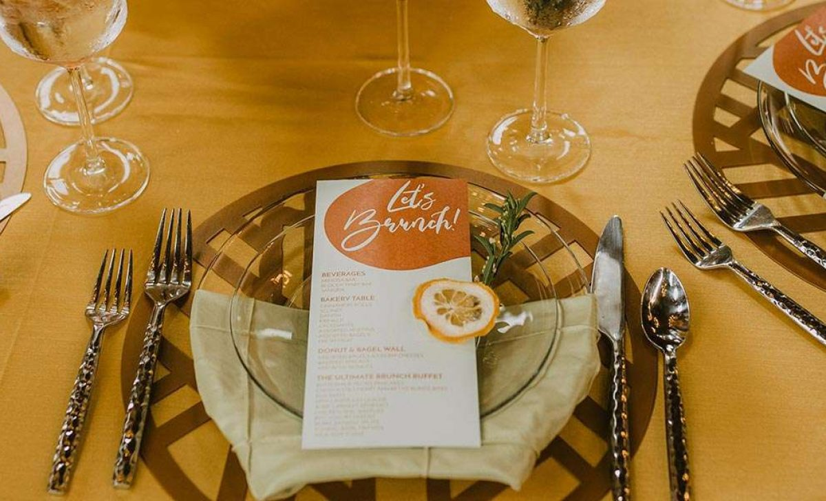 Six Ideas to Rethink Your Reception ©DeGroot Film Co.
